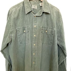 L.L. Bean Button up shirt